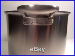 All Clad TK 12 Quart Stock Pot Stainless Thomas Keller Edition New other