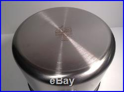 All Clad TK 12 Quart Stock Pot Stainless Thomas Keller Edition in Box w Lid NEW