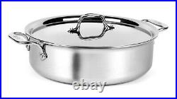 All-Clad Tri-ply Stainless Steel 5-quart Stock Pot with Lid
