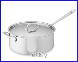 All-Clad Tri-ply Stainless-Steel 6-Qt. Deep Saute Pan