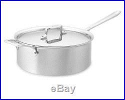 All-Clad Tri-ply Stainless-Steel 6-Qt. Deep Sauté Pan