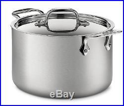 All-Clad d5 Brushed Stainless 4 Qt. Soup Pot