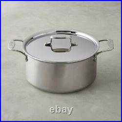 All-Clad d5 Brushed Stainless-Steel Stock Pot, 8-Qt, New
