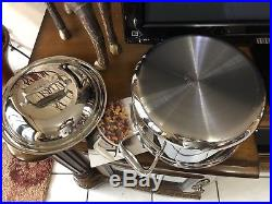 All-Clad d7 8qt Stock pot Dutch Oven, Stainless Steel Polished (not Factory box)