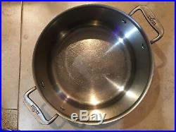 All-clad Metal Crafter 8-qt Stainless Stock Pot, Preowned, Good Shape