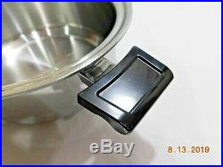 Americraft 4 Qt Stock Pot Familie Slow Cooker Base 5 Ply Stainless Steel