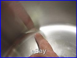 Americraft Kitchen Craft 16 Qt Jumbo Familie Cooker Stock Pot Waterless USA Made