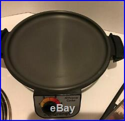 Americraft Kitchen Craft 4 QT ALL-PURPOSE Electric Stock Pot Cooker Stainless