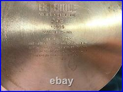BELGIQUE Tools of the Trade STAINLESS COPPER BOTTOM 2,3,4 Qt. WithStrainer EUC