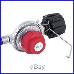 Backyard Pro 30 Qt. Turkey Fryer Kit Stainless Steel Stock Pot with Injector