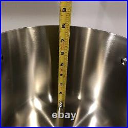 Brand New Calphalon Contemporary Stainless 8qt Stock Pot