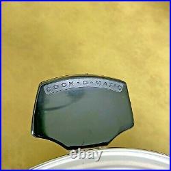 COOK-O-MATIC Waterless Cookware 8 Qt Stockpot Steamer Lid 18-8 Stainless USA EUC