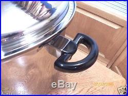 Cordon Bleu 20qt Stock Pot T304s 7 Ply Stainless Steel & LID Like Royal Prestige