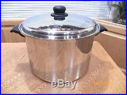 Cutco 10 Quart Stock Pot & Lid. Better Than Saladmaster With Forever Guarantee