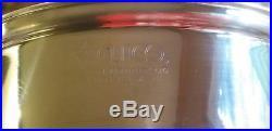 CUTCO 11-1/2 SKILLET/Fry Pan, 5 qt. STOCKPOT & COVER 5 Ply Aluminum Core USA