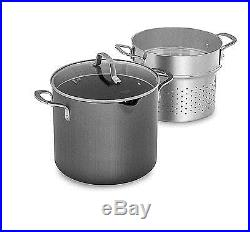 Calphalon 1932446 Classic Nonstick Stock Pot 8 quart Grey