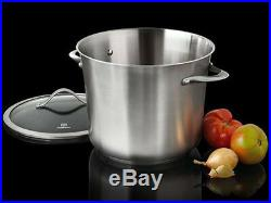 Calphalon Contemporary 8 qt. Stainless Steel Stockpot New