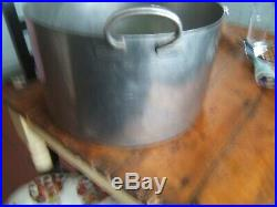 Commercial Catering Stainless Steel Stock Pot Stew Soup Boiling Pan Very Large
