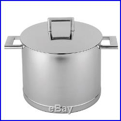 Demeyere John Pawson 8.5-qt Stainless Steel Stock Pot