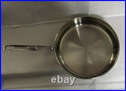 EMERIL by ALL-CLAD Pan Set Copper Core, Stainless, 2 sauce, 2 Fry, & 2 Lids