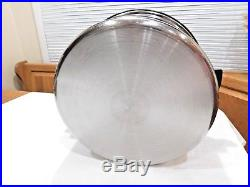 Ekco Ehp Ultraease 12 Qt Stock Pot T304 Ss Titanium Waterless Royal Prestige