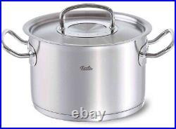 Fissler 10 qt. Stainless Steel Original Profi Collection High Stock Cooking Pot