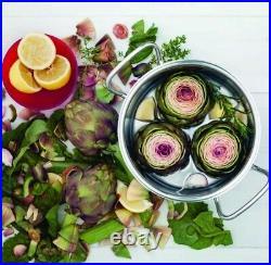 Fissler 4.1 qt. Stainless Steel Original Profi Collection High Stock Cooking Pot