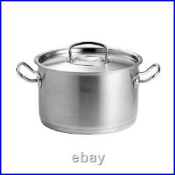 Fissler Original-Profi Collection Cooking Pot, Stainless Steel 18/10, Ø 24 cm