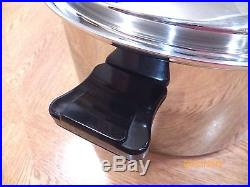 HEALTH CRAFT 12QT Roaster Stock Pot & Vented Lid 5 Ply T304 Surgical Stainless