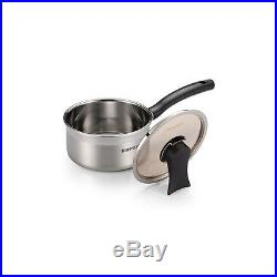 HappyCall 3-PLY STAINLESS STEEL Pot 8pcs Set (4 Pot+4 Lid), Saucepan, Stockpot
