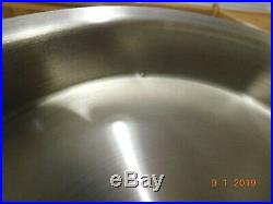 Icook 8 Qt Stock Pot & Steamer 5 Ply T304s Stainless Steel Amway Queen Unused