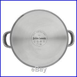 John Lewis Classic Stockpot, 6.5L, 24cm BNIB