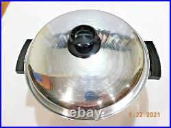 KITCHEN CRAFT 12 QT STOCK POT T304 Multicore Stainless Waterless West Bend USA