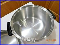 Kitchen Craft 12 Qt Stock Pot & 12 Familie Skillet 5 Ply Multicore Stainless