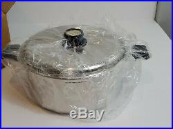Kitchen Craft 12 Qt Stock Pot 5 Ply Multicore Stainless Steel Waterless Cookware