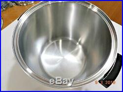Kitchen Craft 20.5 Qt Stock Pot Colossal Cooker 5 Ply Multicore Stainless Steel
