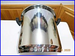 Kitchen Craft 20.5 Qt Stock Pot Colossal Olla Tamale Cooker 5ply Stainless Steel