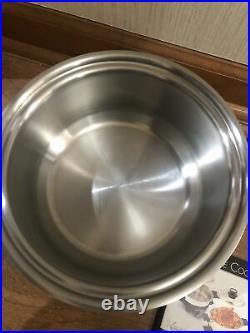 Kitchen Craft 4 QT Pot 7PLY Stainless Americraft Cookware Made USA