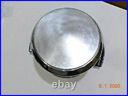 Kitchen Craft 8 Qt Stock Pot & Steamer 5ply Multicore Stainless Steel West Bend