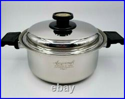 Kitchen Craft Kitchencraft by AmeriCraft 4 Qt Stock Pot with Cover Lid Stainless
