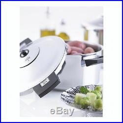 Kuhn Rikon 12-Quart Duromatic Stockpot Pressure Cooker 12-qt
