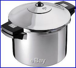 Kuhn Rikon Duromatic Stainless-Steel Stockpot Pressure Cooker 8.4-Qt 8.4 qt
