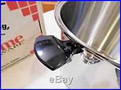 LIFETIME 20 QT Quart Roaster Stock Pot T304CC 12 Element Solar Cap SS West Bend