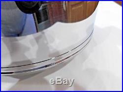LIFETIME West Bend 8QT Roaster Stock Pot Steamer Lid T304CC Solar Cap Stainless