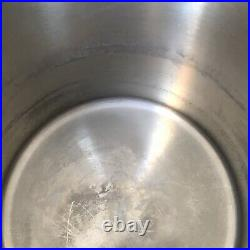 Large WMF Gromargan Germany Vintage 90s Stainless Steel Stock Pot With Lid 18/16