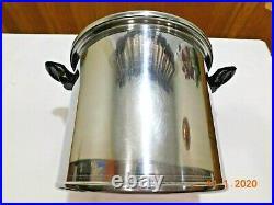 Lifetime West Bend 12 Qt Stock Pot Custom Designed T304cc Stainless Steel