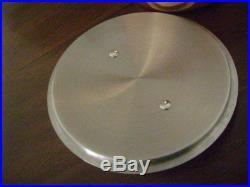 NEW All-Clad SOLID COPPER 4 qt Dutch Oven-Casserole-Stockpot-Stove-Oven-Table