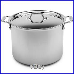NEW All-Clad Stainless Steel Stockpot with Lid 26cm/11.4L