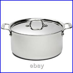 NEW All-Clad Stainless Steel Stockpot with Lid 26cm/7.6L