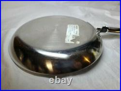 NEW Demeyere Apollo Stainless induction skillet 22cm 8.7 BELGIUM 7 ply New